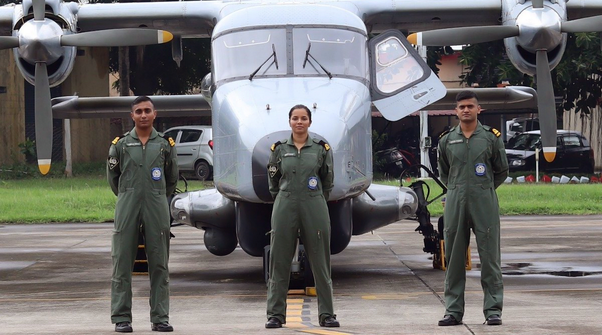 Sub Lieutenant Shivangi Joins Indian Navy as First Woman Pilot, Know All About Her Inspiring Journey
