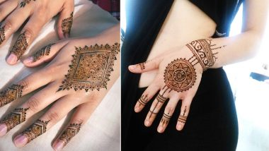 Latest Minimal Mehndi Designs: Dainty Wedding Mehendi Designs for People Who Believe Little Goes a Long Way!