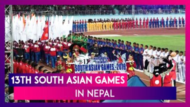 Nepal President Bidhya Devi Bhandari Declares 13th South Asian Games Open With Grandeur
