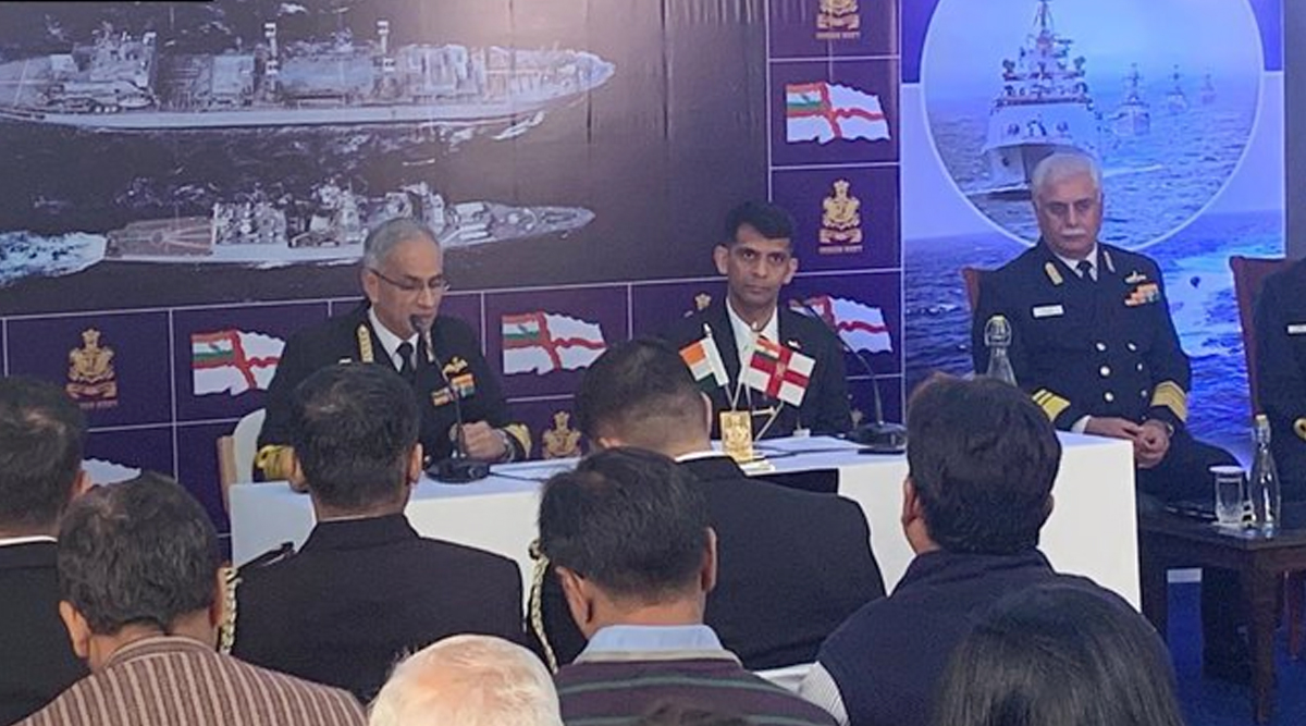 Indian Navy Day 2019 Press Conference: 'Indian Navy Plans to Have Three Aircraft Carriers, 50 Warships Under Construction', Says Admiral Karambir Singh
