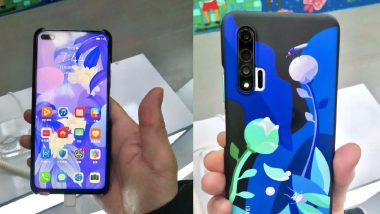 Huawei Nova 6 Images Leaked Online Ahead of Official Launch; Expected Prices, Features & Specifications