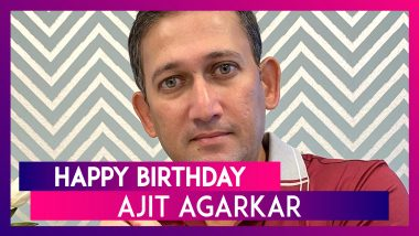 Happy Birthday Ajit Agarkar: Interesting Facts About Former Indian Cricketer
