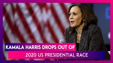 Kamala Harris: Indian Origin California Senator Drops Out of 2020 US Presidential Race