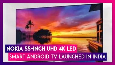 Nokia 55-inch UHD 4K LED Smart Android TV Launched In India At Rs 41,999 Via Flipkart; Price & Specifications