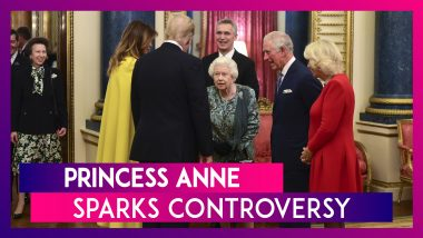 Princess Anne Sparks Controversy: Shrugs When Asked To Greet Donald Trump