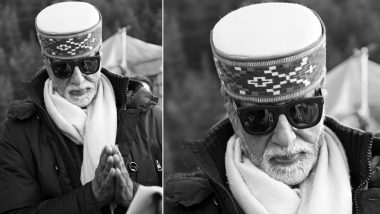Brahmastra: Amitabh Bachchan Overwhelmed by the Affection of Himachali People As He Shoots in Freezing Cold Manali
