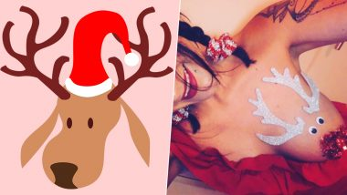 Reindeer Boobs Are Back! the X-Rated Christmas Fashion Trend Has Taken over the Internet (View NSFW Pics)