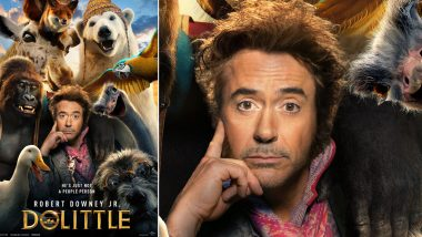 Robert Downey Jr's Dolittle Remake to Hit the Indian Screens on January 17, 2020
