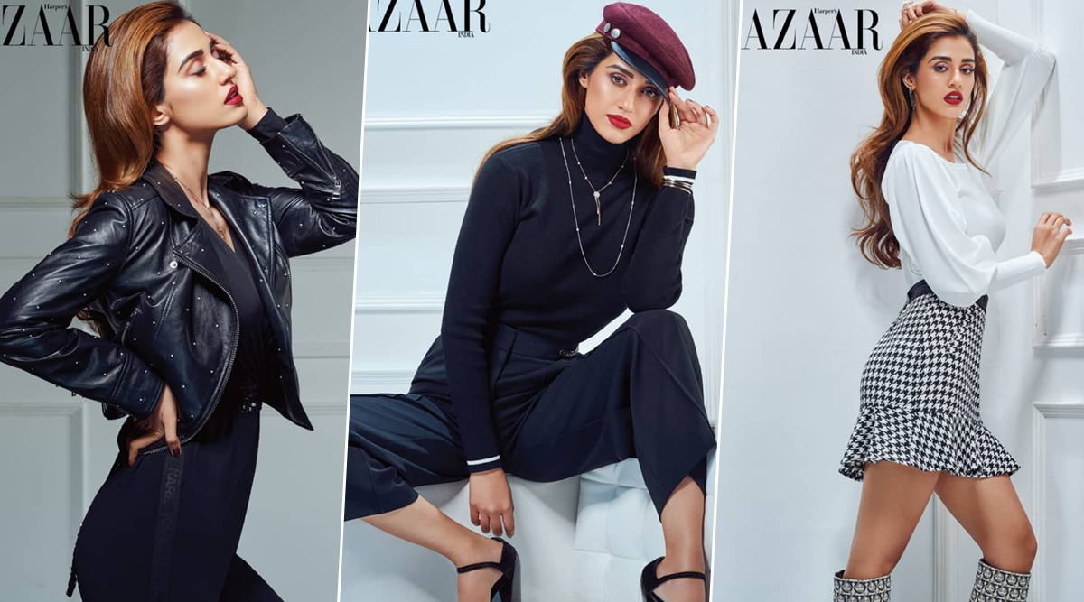 Disha Patani's Love for British Fashion is on Display in her New Magazine Cover for Harper's Bazaar India