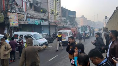 Delhi Fire: 43 Dead After Massive Blaze Engulfs Anaj Mandi at Rani Jhansi Road in National Capital