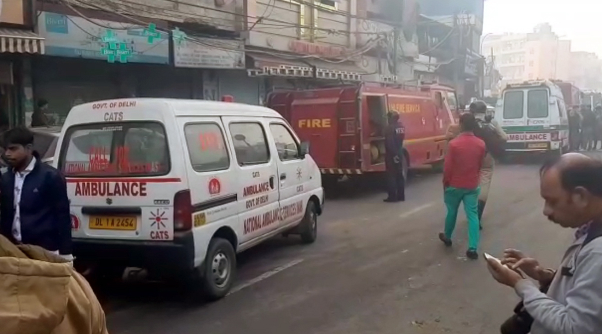 Delhi Fire: Police Suspect Short Circuit Likely Cause of Anaj Mandi Blaze, Arvind Kejriwal Announces Rs 10 Lakh Compensation Each For Family of Deceased
