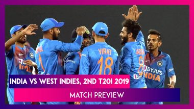 IND Vs WI, 2nd T20I 2019 Preview: Virat Kohli-Led India Seek Series-Win, West Indies Eye Comeback