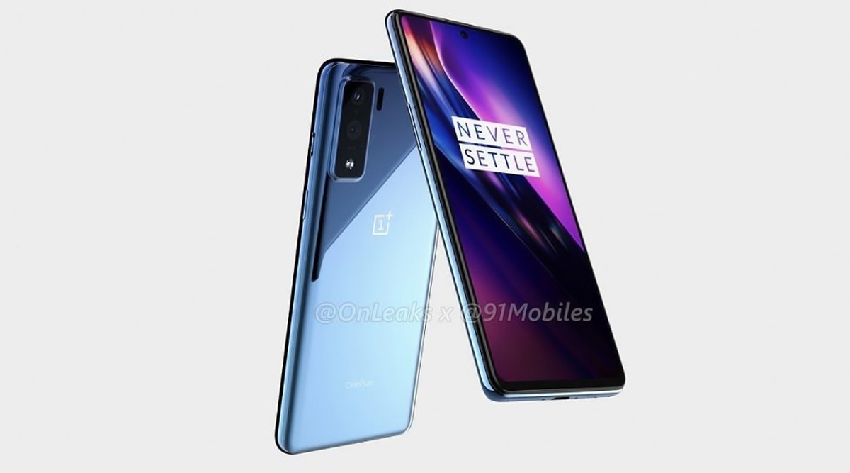 OnePlus 8 Lite Leaked Renders Confirms Rectangular Camera Bump & Punch Hole Display; Could Be OnePlus' First Mid-Range Smartphone In 4 Years