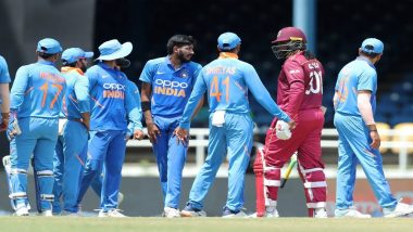 IND vs WI Stat Highlights, 1st T20I 2019: Virat Kohli Clinches Victory For India by 6 Wickets