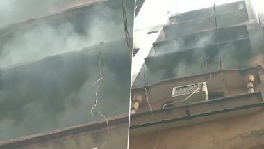 Delhi Fire: Another Blaze in Same Building in Anaj Mandi Where 43 People Died on Sunday, Fire Tenders Rushed to Spot