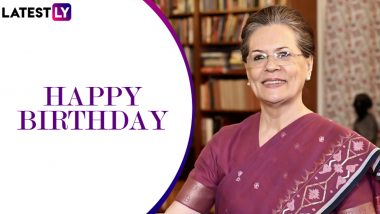 Sonia Gandhi Birthday Special: Lesser-Known Facts About Congress's Saviour-in-Chief