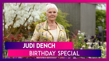 Judi Dench Birthday: Five Facts About The Oscar Winning Actor
