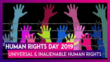 Human Rights Day 2019: Know What Are Universal And Inalienable Human Rights