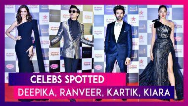 Deepika Padukone, Ranveer Singh, Kartik Aaryan & Others Seen In The City | Celebs Spotted