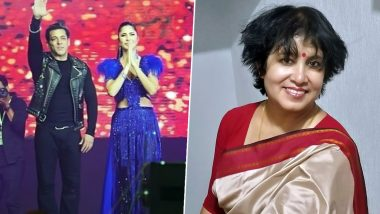 Bangladeshi Author Taslima Nasreen Slams BPL 2019 Opening Ceremony for Having Salman Khan, Katrina Kaif Dance with 'Half Naked Girls' (Read Tweet)