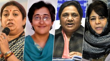 Most Mentioned Twitter Handles in Politics 2019 Female: Smriti Irani, Priyanka Gandhi-Vadra, Mayawati, Atishi & Other Top Female Twitter Profiles in India