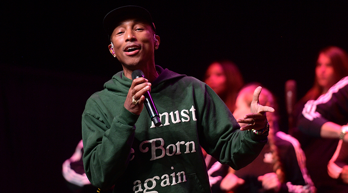 Pharrell Williams Says Production Work Is As Easy As Taking Selfies