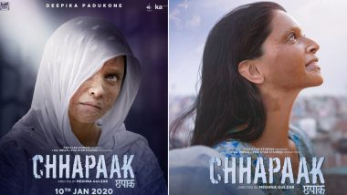 Chhapaak: Deepika Padukone's Malti is Shaken but Not Stirred in these New Movie Posters