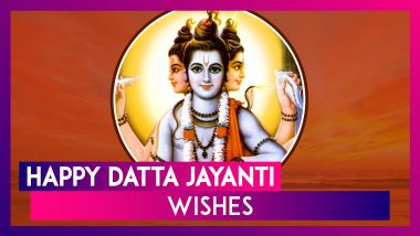 Happy Datta Jayanti Wishes: Messages And Lord Dattatreya Images To Send On This Auspicious Festival