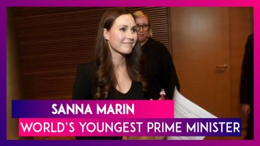 Finnish Minister Sanna Marin, 34, Is World's Youngest Prime Minister