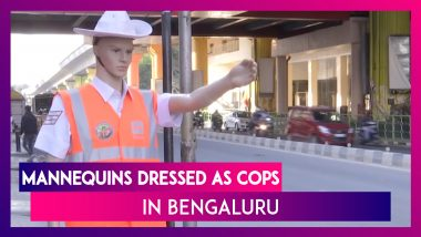 Bengaluru: Life-Size Mannequins Dressed As Cops Placed In The City To Curb Traffic
