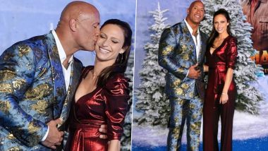 Jumanji: The Next Level Premiere - Dwayne Johnson and Wife Lauren Hashian Make a Dazzling Red Carpet Debut Since Marriage (View Pics)