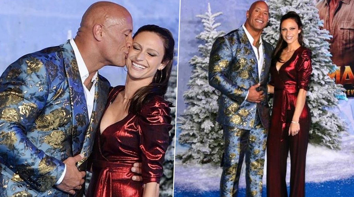 Jumanji: The Next Level Premiere - Dwayne Johnson and Wife Lauren Hashian Make a Dazzling Red Carpet Debut Since Marriage (View Pics)