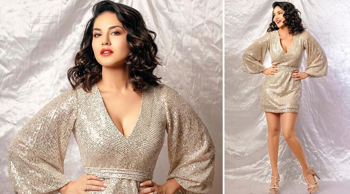 Sunny Leone's Shiny Shimmery Dress Has Us Inspired to Go For This Fabulous Look for New Year's Eve 2019! (See Pics)