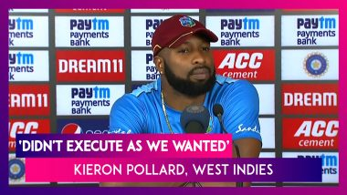 India Win T20I Series Against West Indies, Kieron Pollard Says, 'Didn't Execute As We Wanted'