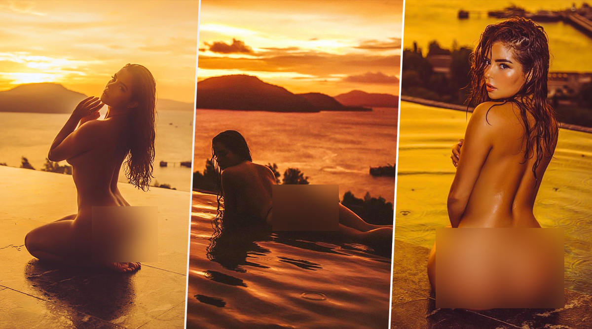 Super Hot Demi Rose Goes Fully Naked in Infinity Pool on Her Thailand Vacay (View Pics)