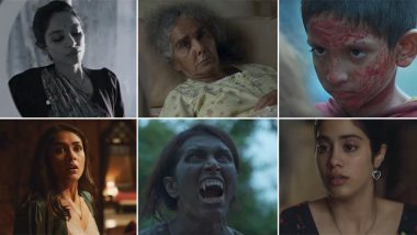 Ghost Stories Trailer: Janhvi Kapoor, Sobhita Dhulipala, Mrunal Thakur Starrer Horror Anthology Will Scare the Daylights Out of You (Watch Video)