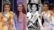 Miss World 2019: Check Out List of Past Miss World Winners From India While We Cheer For Suman Rao to Bring The Crown Home!