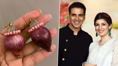 Akshay Kumar Gifts Wifey Twinkle Khanna 'Onion Earrings' and We Think They Are the Best Kind of Onion Rings We Have Seen!