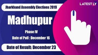 Madhupur Vidhan Sabha Constituency in Jharkhand: Sitting MLA, Candidates For Assembly Elections 2019, Results And Winners