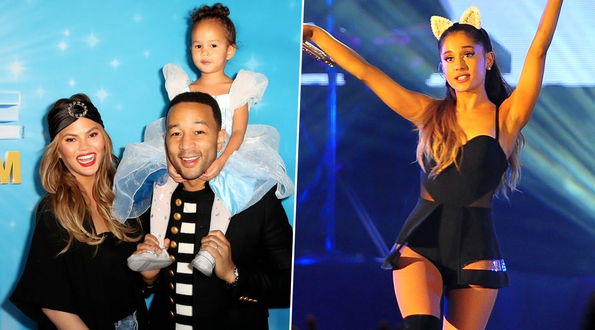 John Legend's 3-Year Old Daughter Luna Thinks Ariana Grande Is a Way Better Singer than Daddy