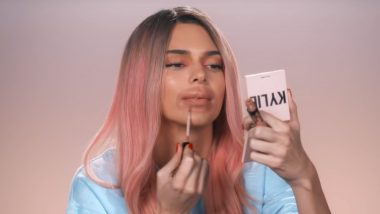 Kendall Jenner Impersonates Sister Kylie Jenner Making Fun of Her Big Lips in This Hilarious Make-Up Tutorial Video