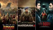 Jumanji: The Next Level Beats Mardaani 2 And The Body on Day 1, As Per Early Estimates