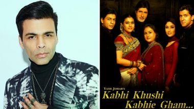 18 Years of Kabhi Khushi Kabhie Gham: Karan Johar Says He Is Blessed to Have This Story to Look Back to and Still Feel the Love (Read Tweet)