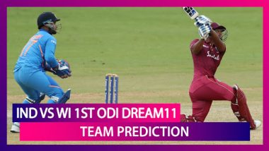 India Vs West Indies Dream11 Team Prediction, 1st ODI 2019: Tips To Pick Best Playing XI