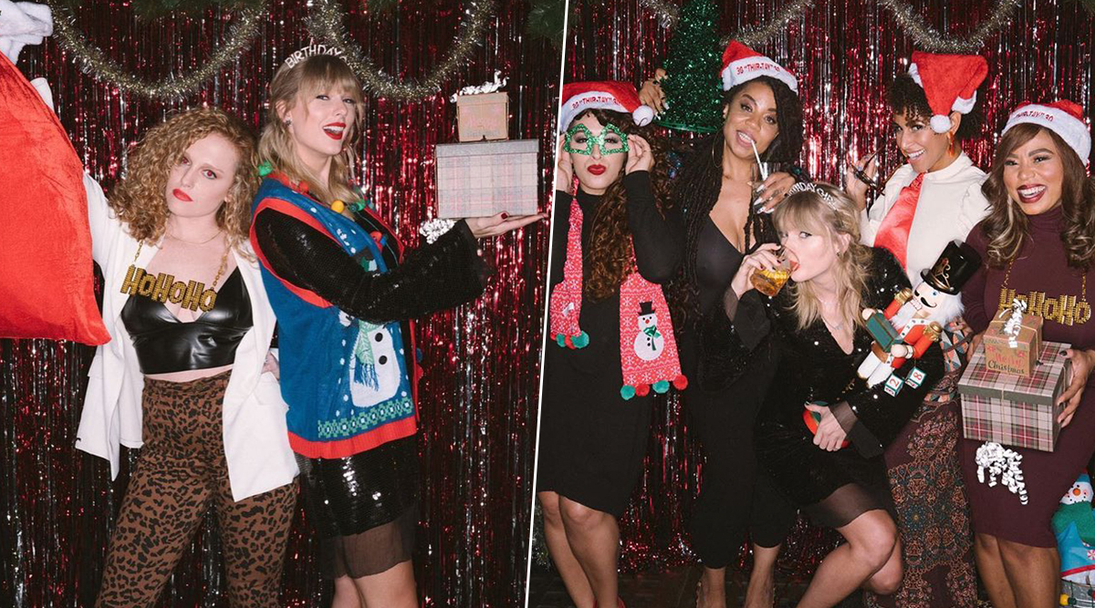 Taylor Swift's Holiday-Themed Birthday Party Pictures Are Absolutely Unmissable (View Pics)