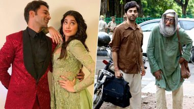 Ayushmann Khurrana-Amitabh Bachchan's Gulabo Sitabo to Clash With Rajkummar Rao and Janhvi Kapoor's Roohi Afza on April 17, 2020