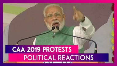 Citizenship (Amendment) Act 2019: Political Reactions As Country Witnesses Violent Protests