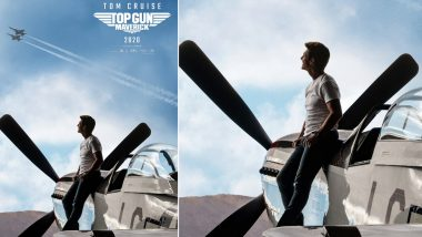 Top Gun: Maverick New Poster - Tom Cruise Has His Eyes Set Sky High and So Are Our Expectations Ahead of the Second Trailer's Release on December 16