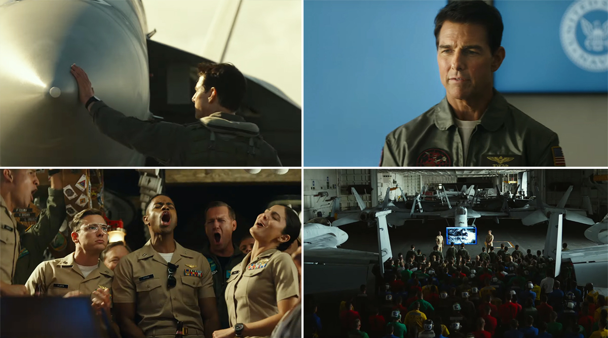 Top Gun: Maverick New Trailer - Tom Cruise Soars High in the Sky as 'One of the Finest Pilots' (Watch Video)