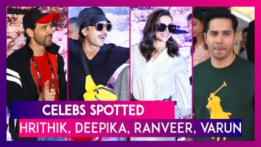 Hrithik Roshan, Deepika Padukone, Ranveer Singh & Others Seen In The City | Celebs Spotted